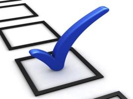 Afbeelding van een stemformulier